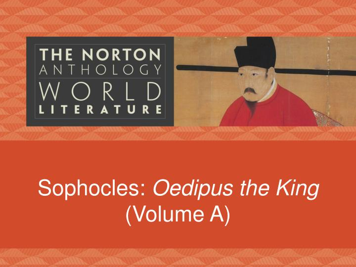 Sophocles oedipus the king essay