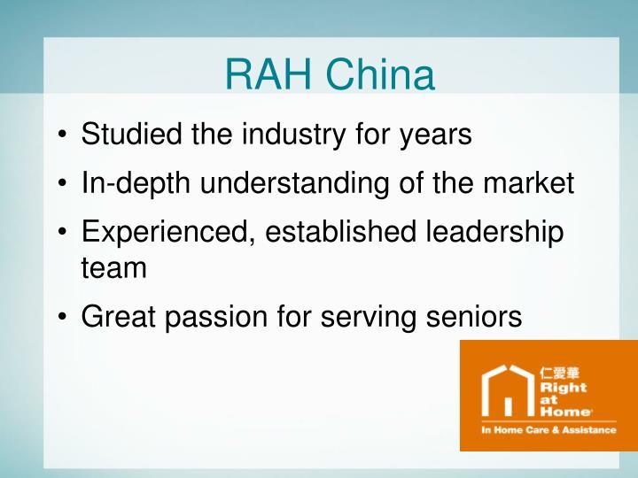 RAH China