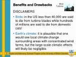 benefits and drawbacks5