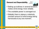 demand and dependability1