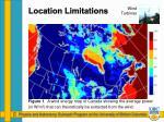 location limitations1