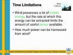 time limitations1