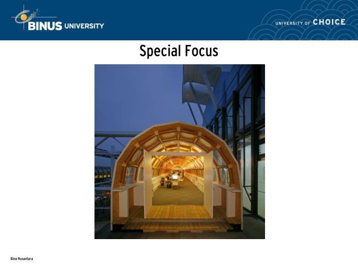 Special Focus