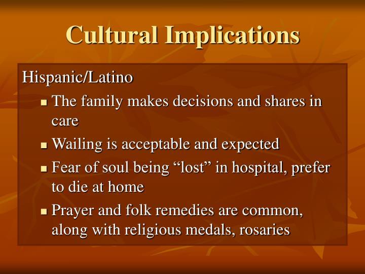 Cultural Implications