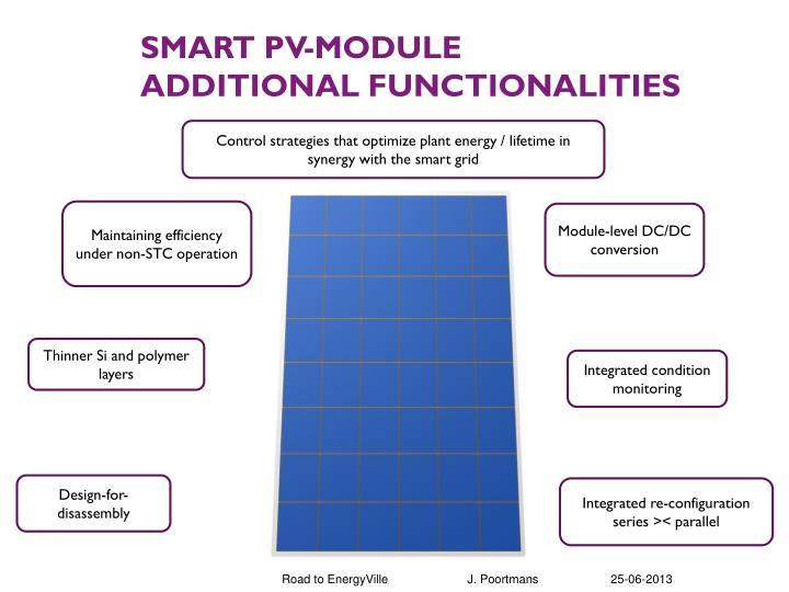 SMART PV-module