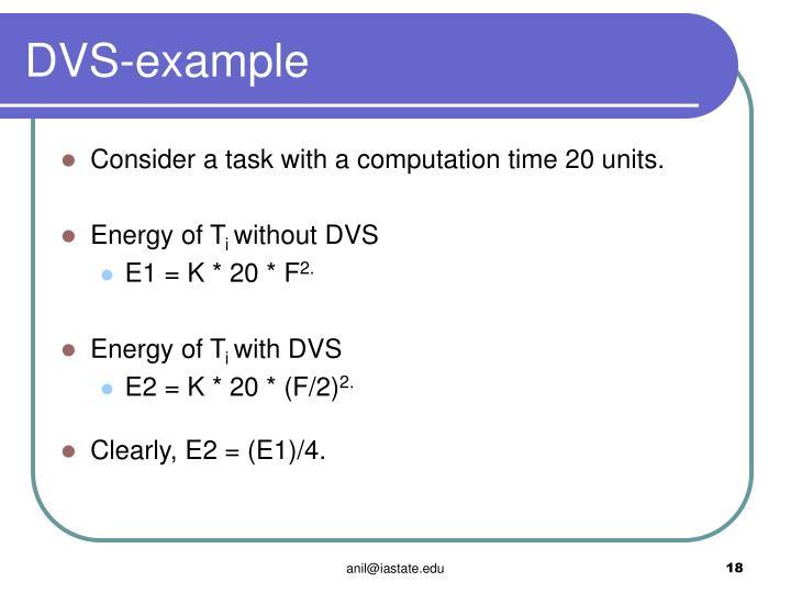 DVS-example
