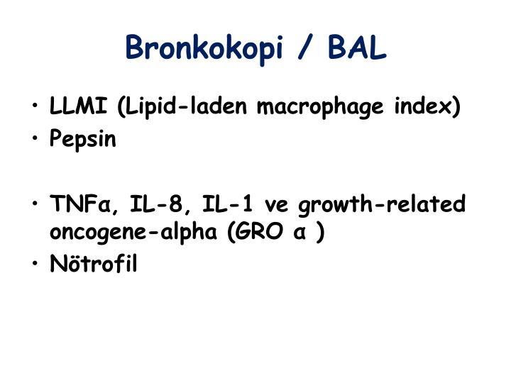 Bronkokopi / BAL