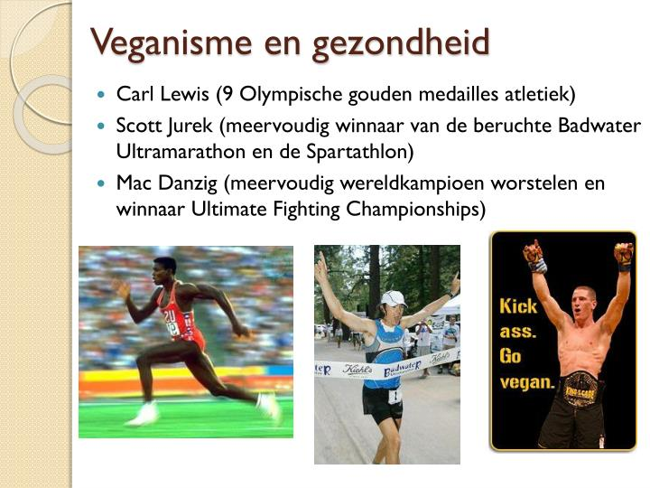Veganisme en gezondheid