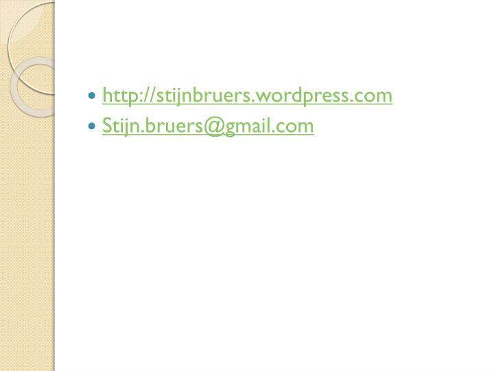 http://stijnbruers.wordpress.com