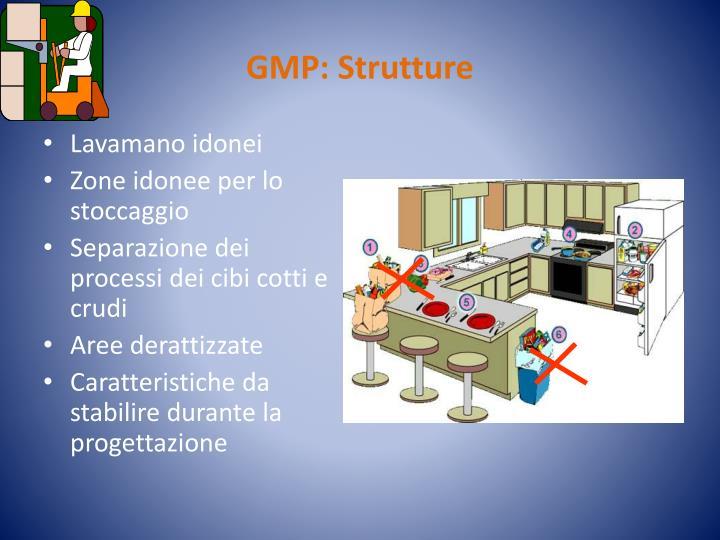 GMP: Strutture
