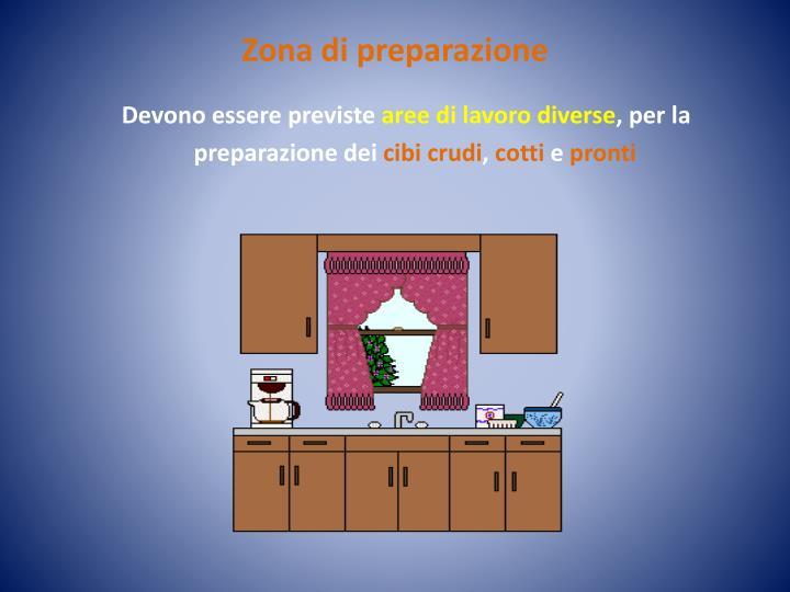 Zona di preparazione