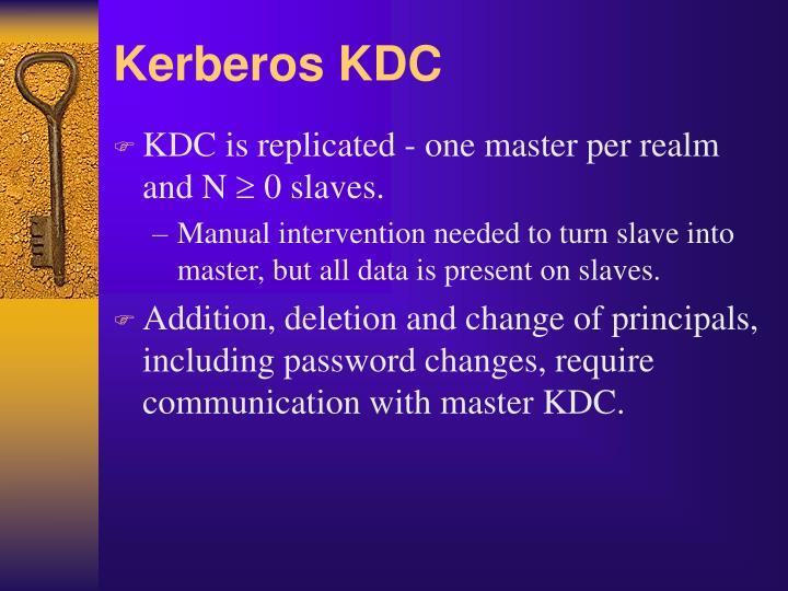 Kerberos KDC
