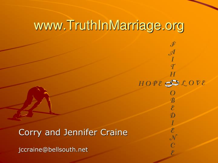 www.TruthInMarriage.org
