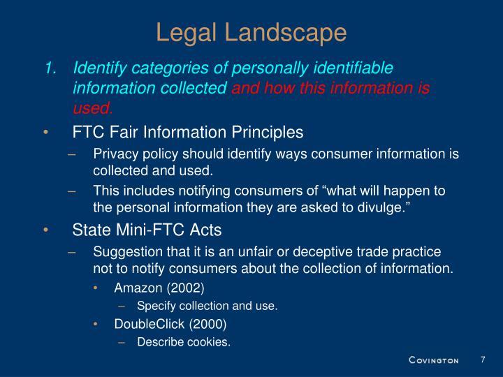 Legal Landscape