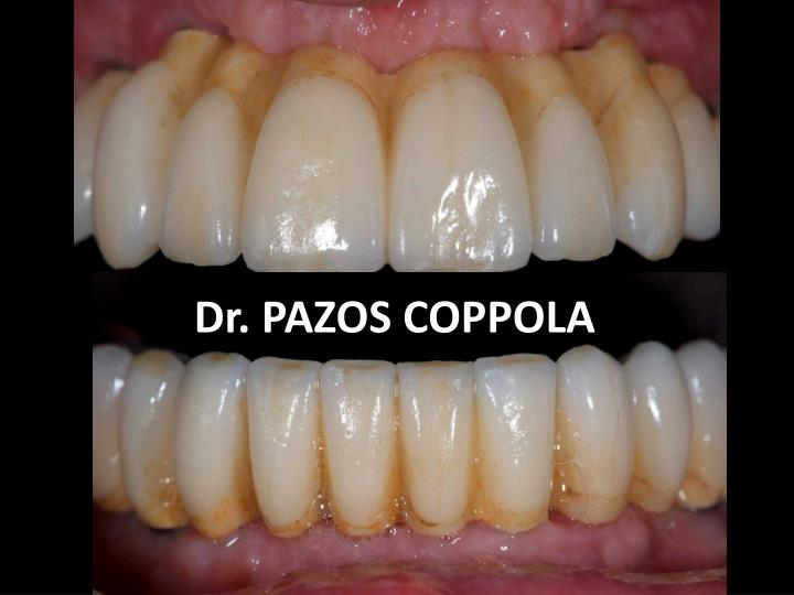 Dr. PAZOS COPPOLA