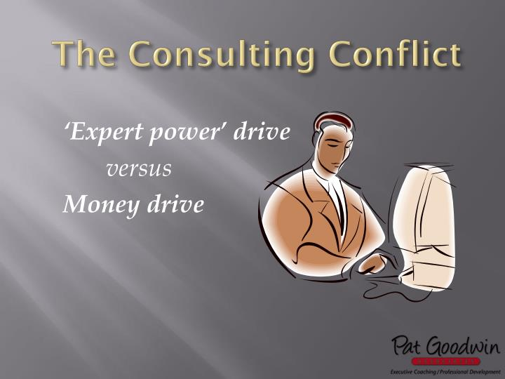 The Consulting Conflict