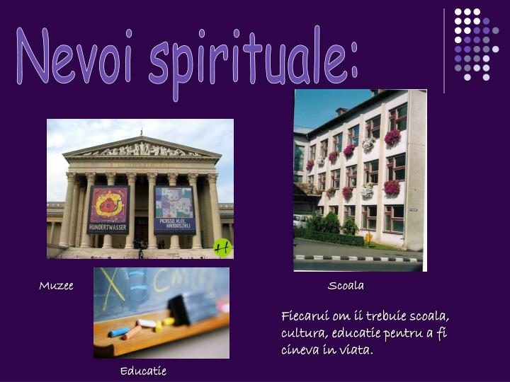 Nevoi spirituale: