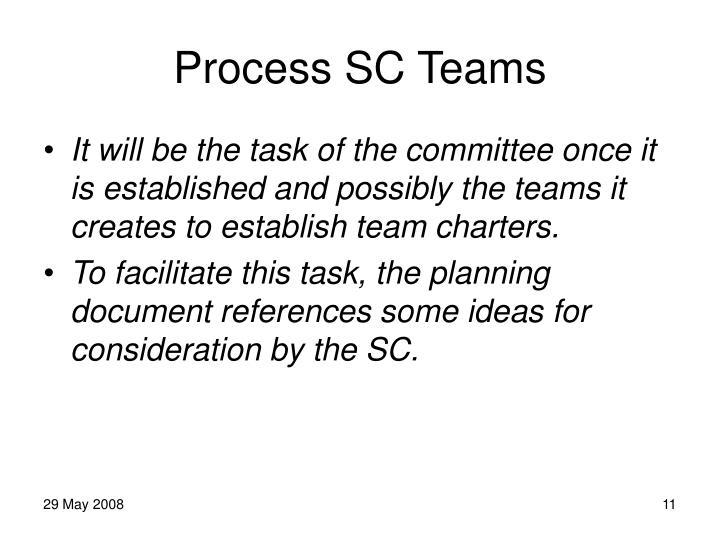 Process SC Teams