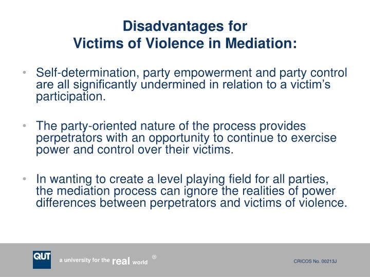 Disadvantages for