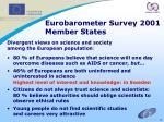 eurobarometer survey 2001 member states