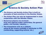 science society action plan