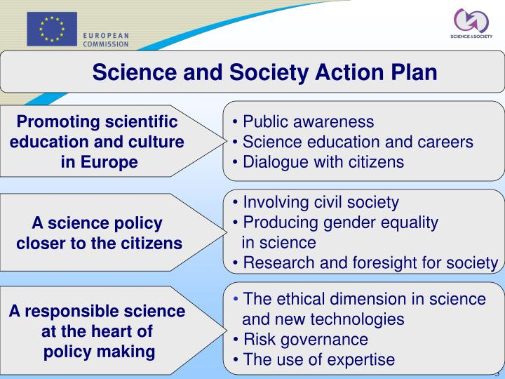 Science and Society Action Plan