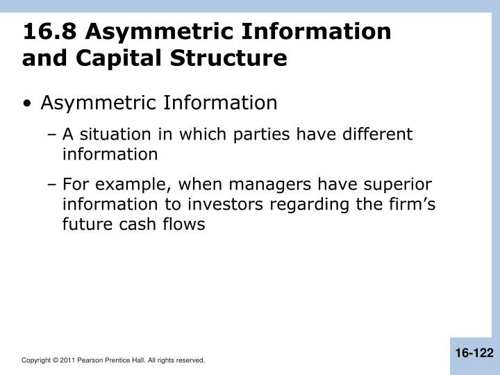 16.8 Asymmetric Information