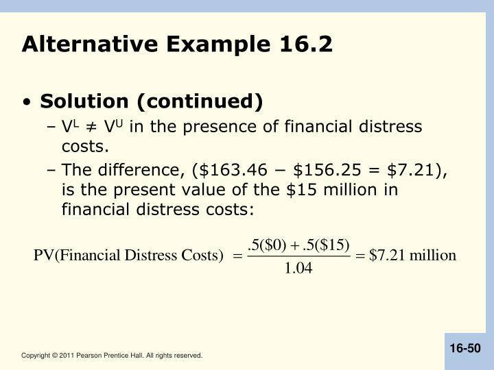 Alternative Example 16.2