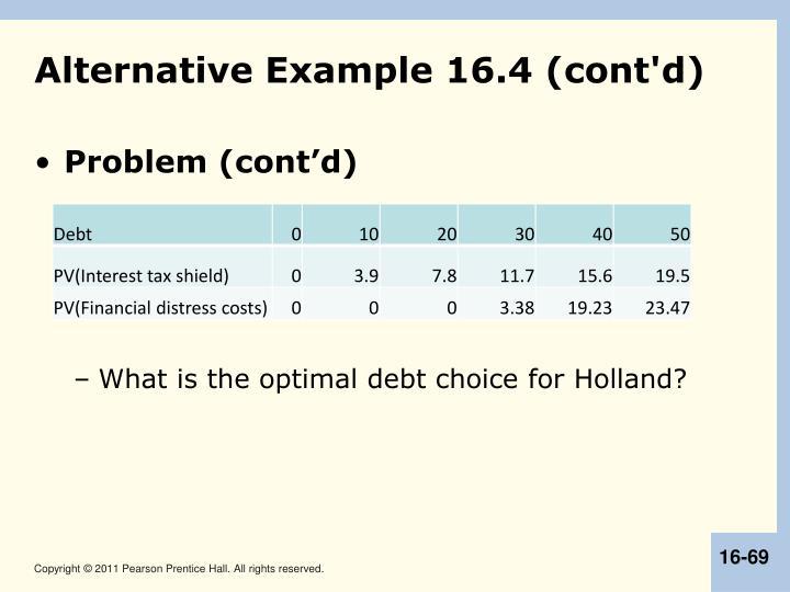 Alternative Example 16.4 (cont'd)