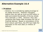 alternative example 16 4