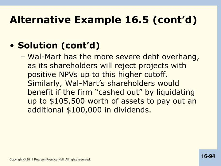 Alternative Example 16.5 (cont'd)