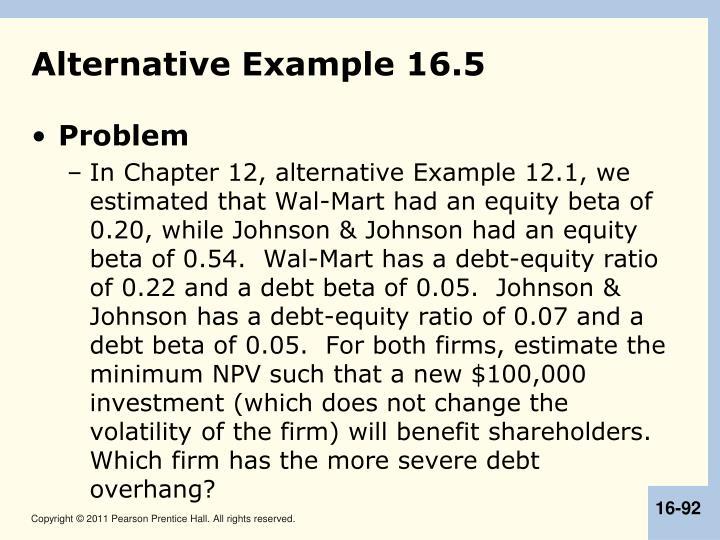Alternative Example 16.5