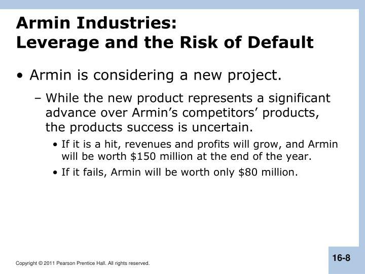 Armin Industries: