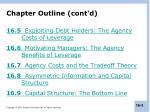 chapter outline cont d