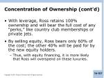concentration of ownership cont d2