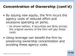 concentration of ownership cont d3