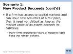scenario 1 new product succeeds cont d1