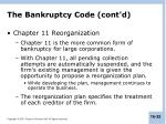 the bankruptcy code cont d1