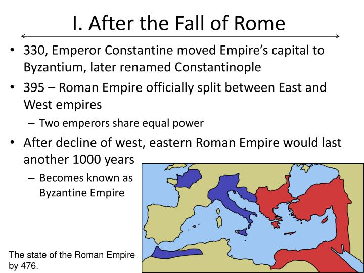 I after the fall of rome