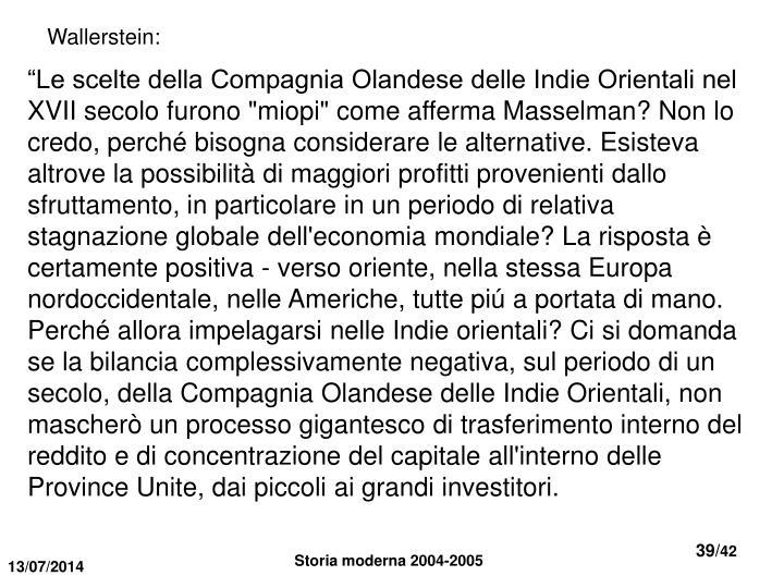 Wallerstein: