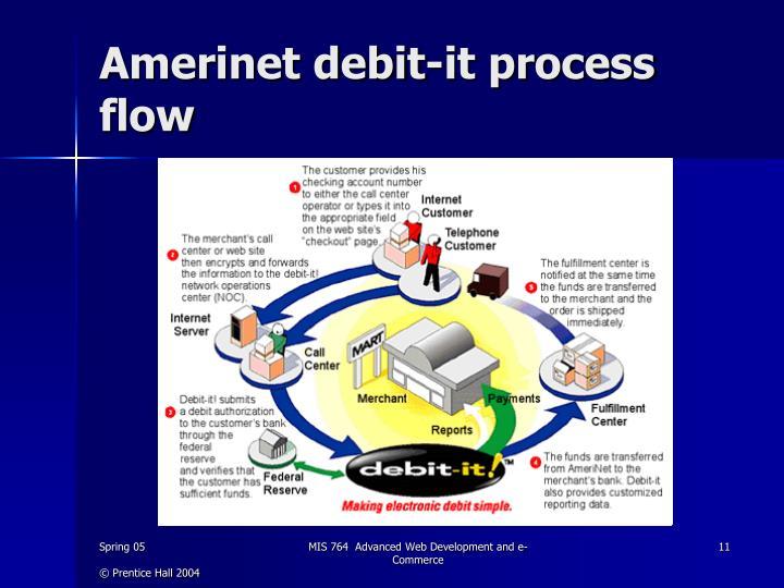 Amerinet debit-it process flow