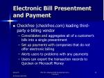 electronic bill presentment and payment4