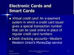 electronic cards and smart cards1