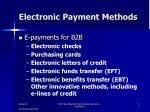 electronic payment methods2