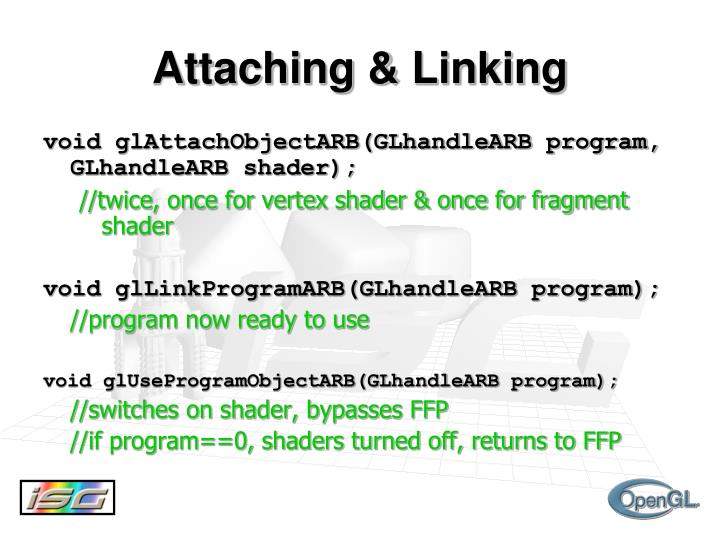 Attaching & Linking