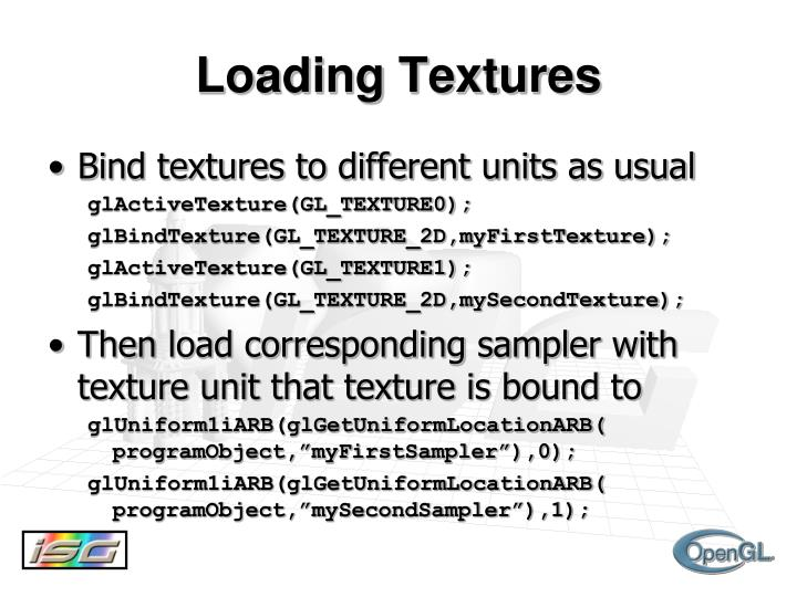 Loading Textures