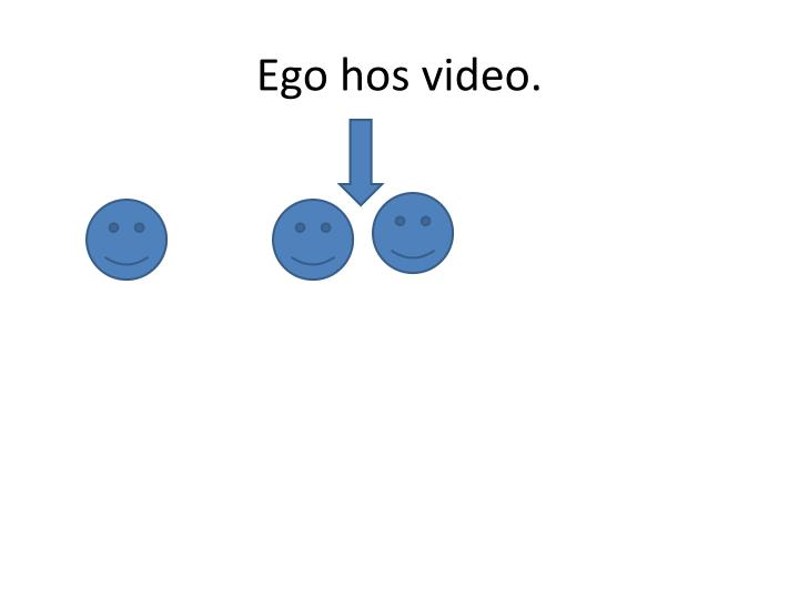 Ego hos video.