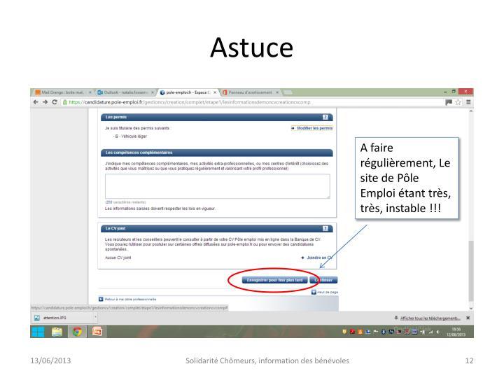 Astuce