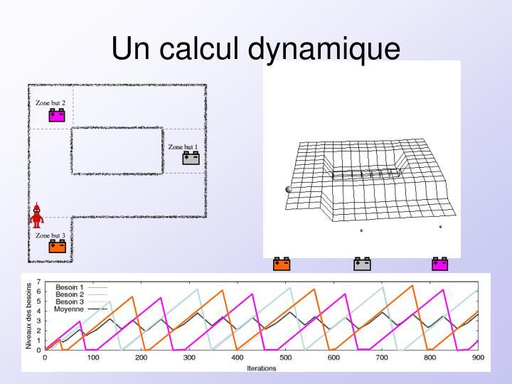 Un calcul dynamique