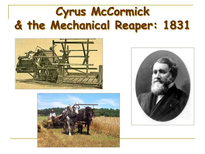 Cyrus McCormick